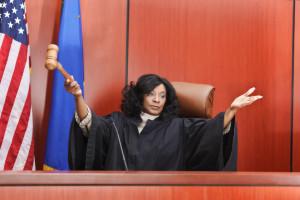 Exasperated Judge